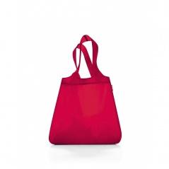Siatka mini maxi shopper red