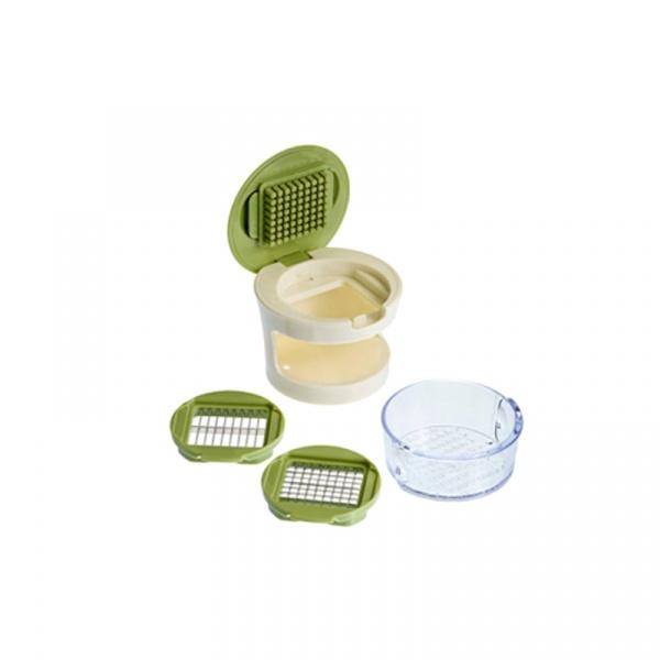 Siekacz do małych warzyw 3 w 1 Lurch zielony LU-00221450