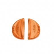 Silikonowe uchwyty do garnków 2 szt. Twisty de Buyer pomarańczowe