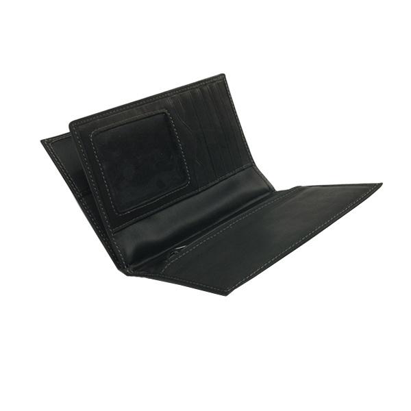 Skórzany portfel na dokumenty z kieszonką na zamek Sagaform Travel SF-5002832