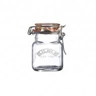 Słoik 0,07l Kilner Square Clip Top Jar przezroczysty