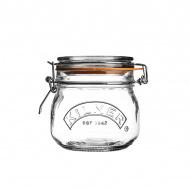 Słoik 0,5l Kilner Round Clip Top Jar przezroczysty