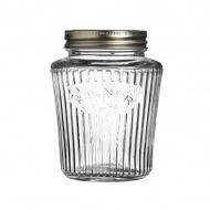 Słoik 0,5l Kilner Vintage Preserve Jars przezroczysty