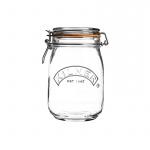 Słoik 1l Kilner Round Clip Top Jar przezroczysty