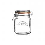 Słoik 1l Kilner Square Clip Top Jar przezroczysty