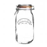 Słoik 3l Kilner Round Clip Top Jar przezroczysty