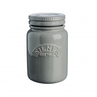 Słoik ceramiczny 0,6l Kilner Ceramic Push Top Storage Jar Morning Mist/szary