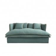 Sofa 2os. Nicea 180x100cm Miloo Home Wabi Sabi niebieska