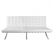 Sofa BA3 Barcelona D2.Design biała skóra TP