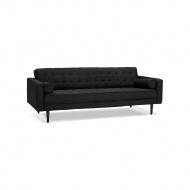 Sofa Kokoon Design Cecil 220 cm czarna