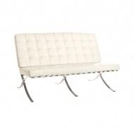 Sofa pikowana Barcelon King Home biały