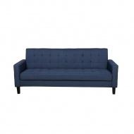 Sofa rozkładana ciemnoniebieska VEHKOO