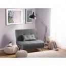 Sofa z funkcją spania ciemnoszara FARRIS
