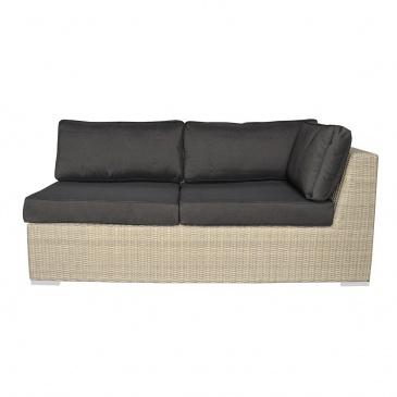Sofa z podłokietnikiem 173x87x70 cm Miloo Home West jasnoszara ML7230