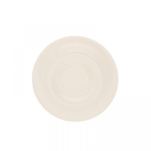 Spodek pod filiżankę lub kubek 16 cm Kahla Pronto Colore kość słoniowa KH-573516A72263C