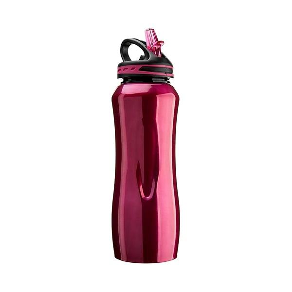 Stalowa butelka Cool Gear Waterville czerwona  196-10