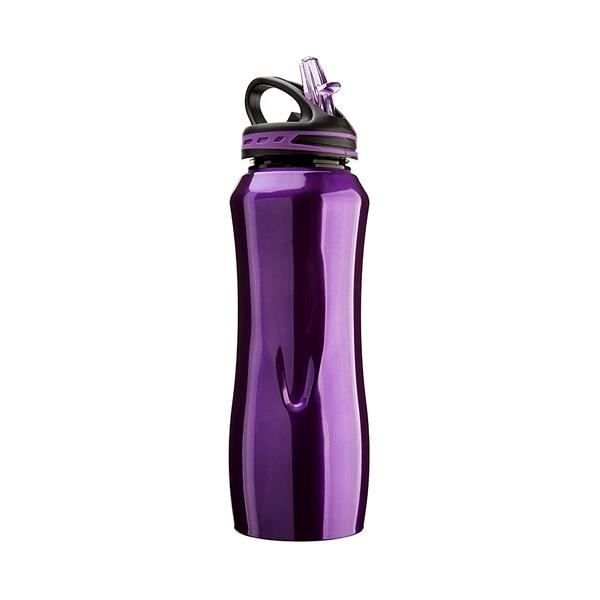 Stalowa butelka Cool Gear Waterville fioletowa 196-09