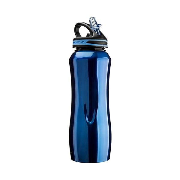 Stalowa butelka Cool Gear Waterville niebieska 196-01