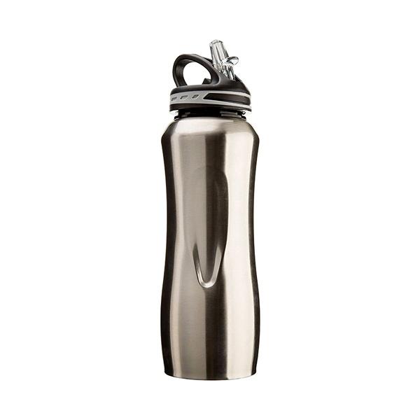 Stalowa butelka Cool Gear Waterville szara 196-13