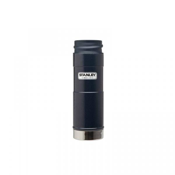 Stalowy kubek termiczny jednoręczny 0,47 l Stanley Classic granatowy ST-10-01394-014