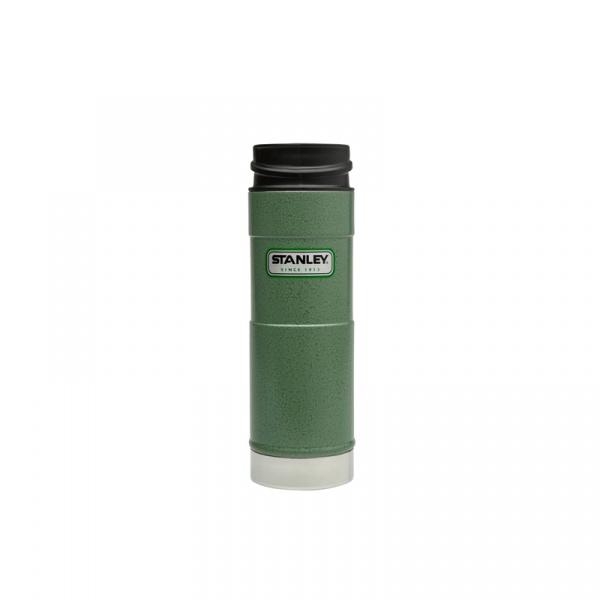 Stalowy kubek termiczny jednoręczny 0,47 l Stanley Classic zielony ST-10-01394-013