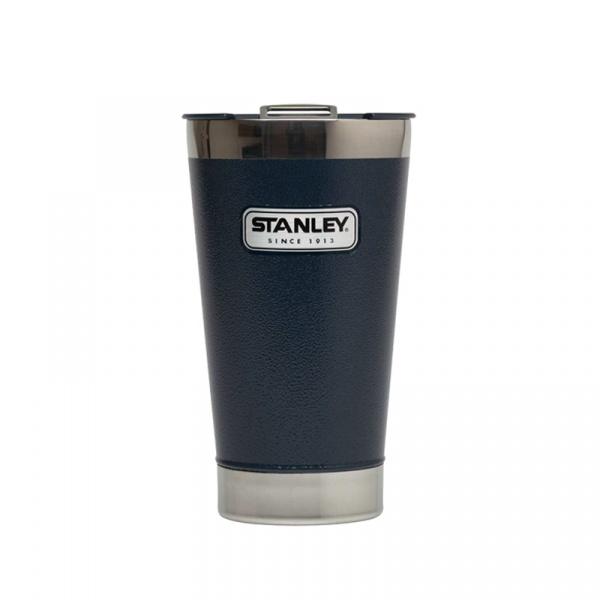 Stalowy kufel termiczny 0,47 l Stanley Classic granatowy ST-10-01704-007