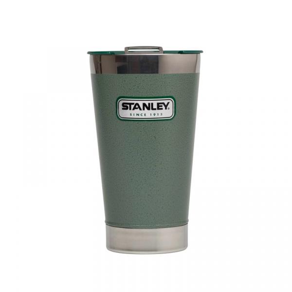 Stalowy kufel termiczny 0,47 l Stanley Classic zielony ST-10-01704-002