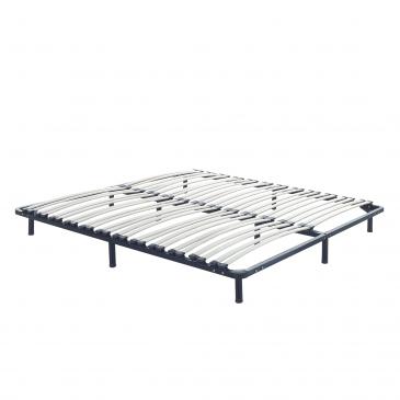 Stelaż Do łóżka 140x200 Cm Wolnostojący 48 Listewek Tartaruga