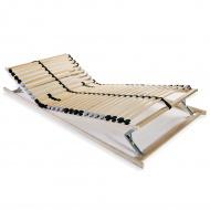 Stelaż do łóżka z 28 listwami, drewno FSC, 7 stref, 90 x 200 cm