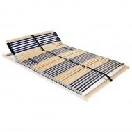 Stelaż do łóżka z 42 listwami, drewno FSC, 7 stref, 140x200 cm