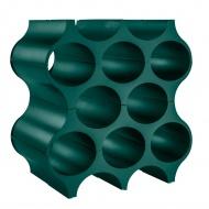 Stojak na butelki 35x23 cm Koziol SET-UP szmaragdowa zieleń KZ-3596649