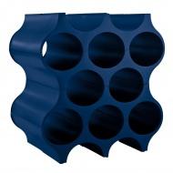 Stojak na butelki 35x23cm Koziol Set-up kobaltowy