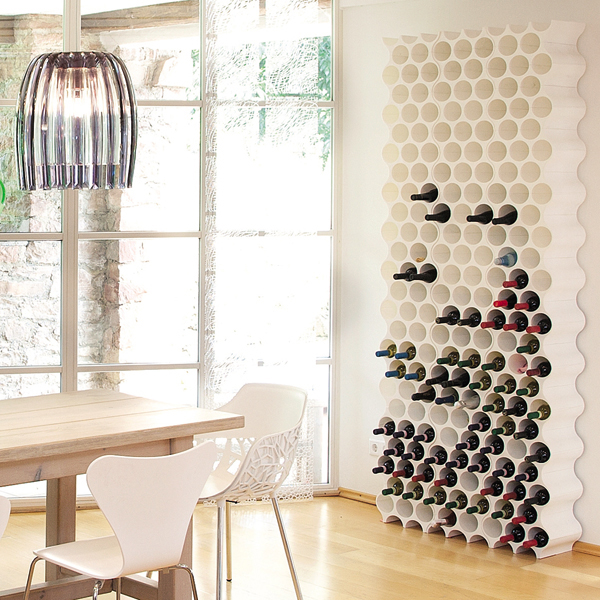 stojak na butelki koziol set up br zowy. Black Bedroom Furniture Sets. Home Design Ideas