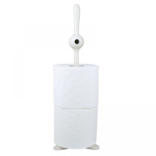 Stojak na papier toaletowy Koziol Toq biały KZ-5009525