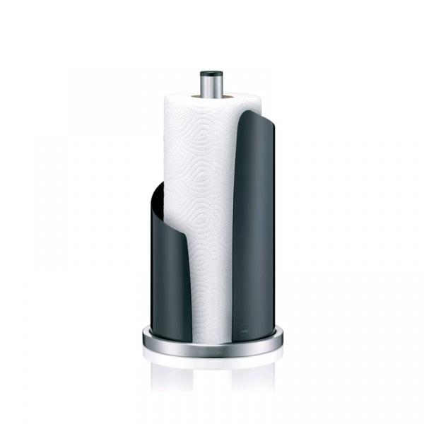 Stojak na ręcznik papierowy Kela Stella czarny KE-11200