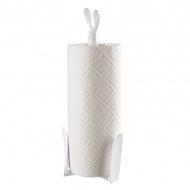 Stojak na ręczniki papierowe biały Koziol Roger