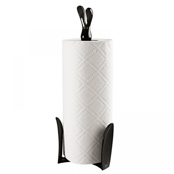 Stojak na ręczniki papierowe Koziol Roger czarny  KS-5226526