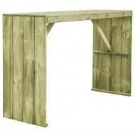 Stół barowy, impregnowane drewno sosnowe FSC, 170x60x110 cm