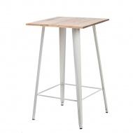 Stół Barowy Paris Wood biały jesion