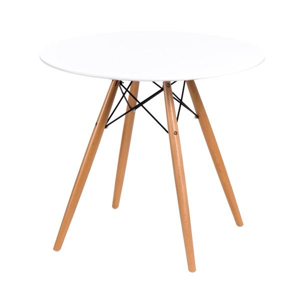 Stół D2 DTW 80 cm biały DK-64163