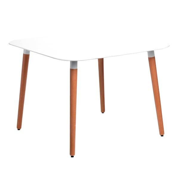 Stół do jadalni 100x100x100cm D2 Copine biały 5902385714471