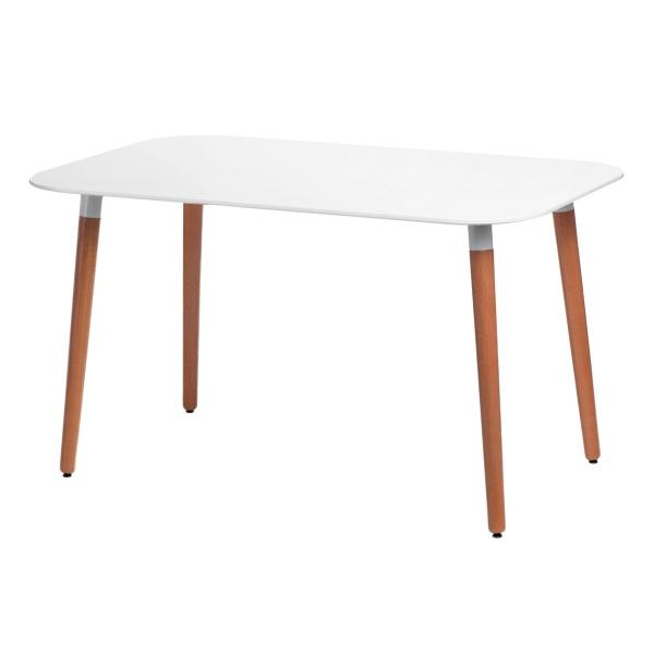 Stół do jadalni 130x80x72cm D2 Copine biały DK-70479