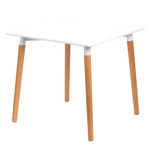 Stół do jadalni 80x80x80cm D2 Copine biały DK-64737
