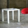 Stół Living 80x80 biały 5902385701600