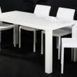 Stół Lucente 140x80 biały DK-24551
