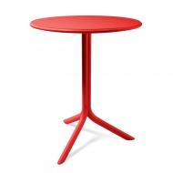 Stół okrągły ogrodowy 61cm D2 Spritz czerwony