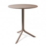 Stół okrągły ogrodowy 61cm D2 Spritz szary