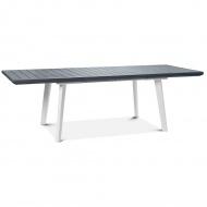 Stół rozkładany Torino : Kolor - Biały - Jasny szary