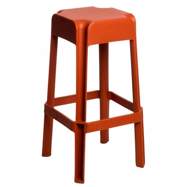 Stołek D2 barowy Sarjeta orange DK-62705