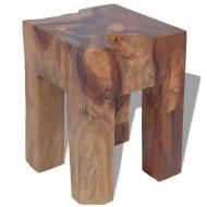 Stołek z drewna tekowego 30x30x40 cm